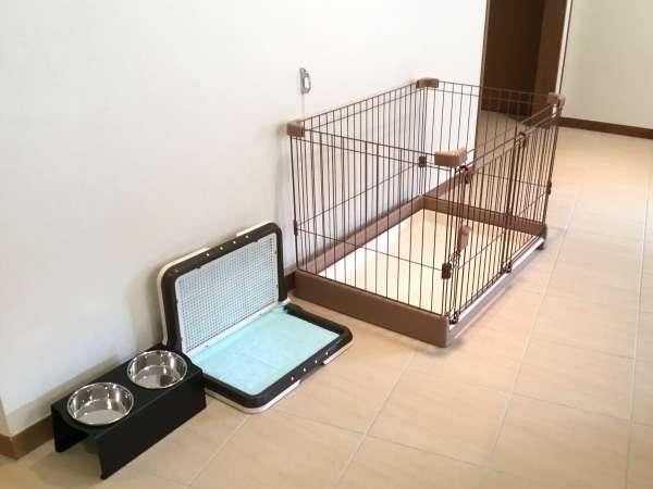 愛犬用の客室備品