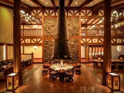 八ヶ岳山麓、蓼科高原のクラシックリゾートホテル