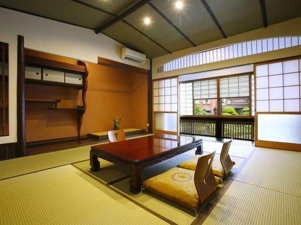 【特別室】特別室の和室部分。特別室にはベッドルーム、内湯も備わります
