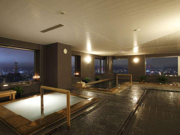 天然温泉 22階スカイリゾートスパ「プラウブラン」男性