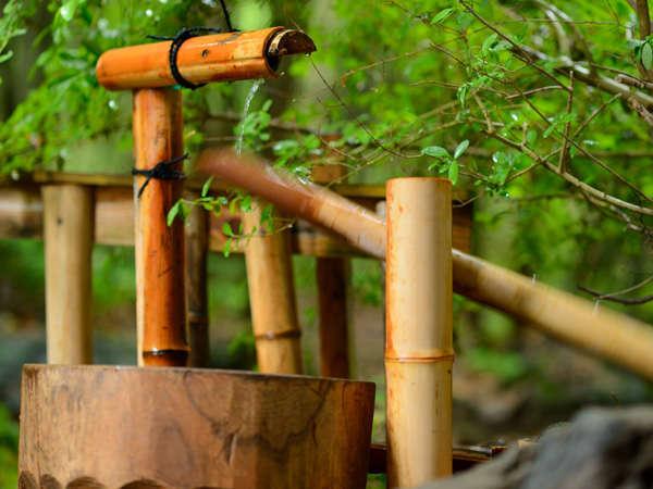【イメージ 初夏】露天風呂からの四季折々の風景をお楽しみください