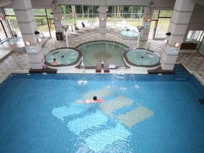【屋内プール完備】バーデゾーンにはプールのほか、多種多様な風呂をご用意!