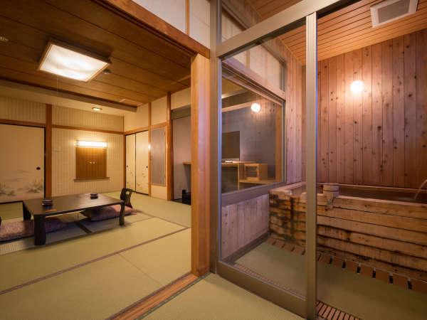 檜香の間 展望お座敷風呂付客室
