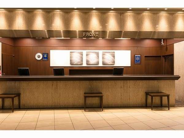 ホテル1階フロンドデスク