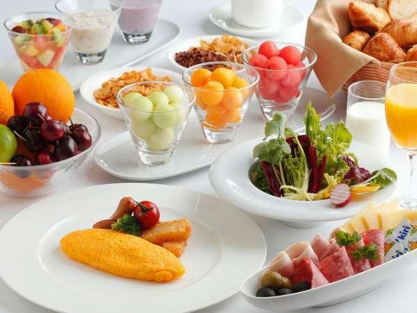 朝食はブッフェスタイルでご用意いたします