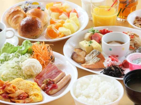 ★朝食バイキング