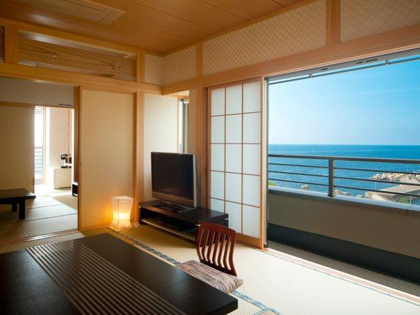 ★ゆったり日本海を望む! 新館 松石庵 特別室(例)