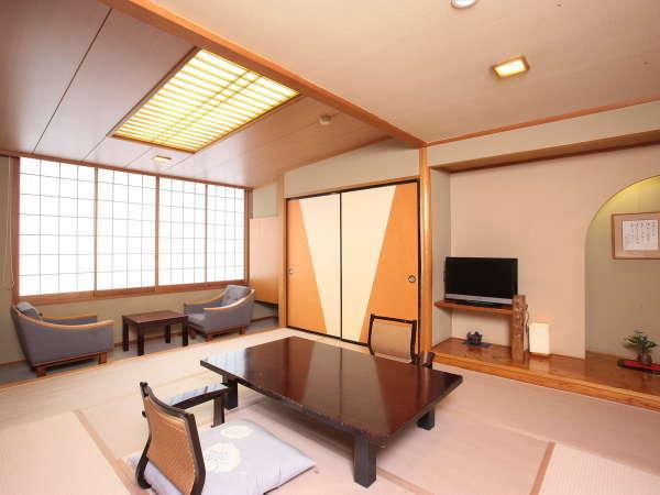 近代的な和風情緒の趣き 本館和室の一例