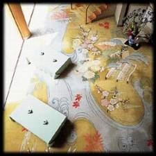 香雲館曼荼羅を描いた絨毯