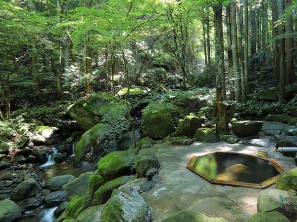 【土湯別邸 里の湯】源泉かけ流しの温泉を完全貸切で愉しめる、贅沢な宿。