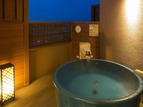 天祥の館温泉露天風呂付スイート客室](洗い場なし)、バス・トイレ付