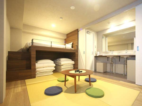 畳がほのかに香るファミリールーム