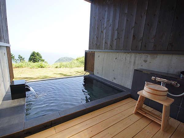 温泉に浸かって日頃の疲れを癒し、快適なキャンピングライフをお楽しみ下さい。