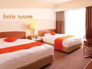 広さ20㎡ 110cmのベッド×2台☆ゆったり快適にお過ごしいただけます。