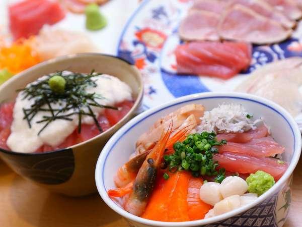 好きな海鮮を好きなだけ乗せて!海鮮丼♪♪