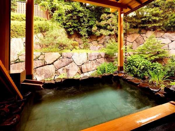 ■大浴場【翠泉の湯】~露天風呂からの季節の移ろいをお楽しみ下さい~