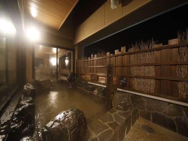 ◆男性露天風呂(夜)