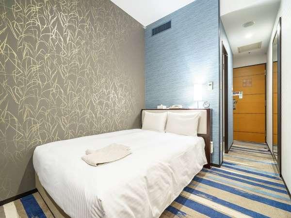 広さ16.6㎡、ベッド幅140cm
