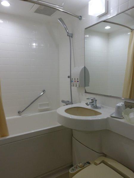 当ホテルのお風呂です。