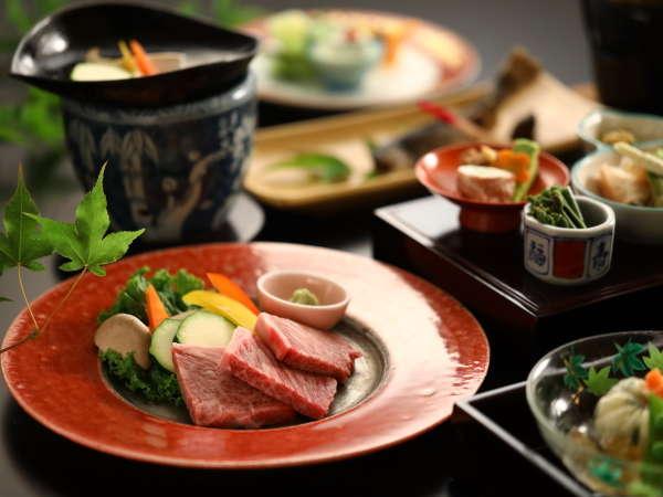 ■<贅沢ご飯>信州プレミアム牛の陶板焼き