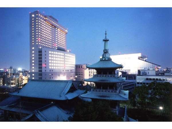 緑豊かな下町の風情があふれる街…両国へようこそ。第一ホテル両国は、両国唯一の高層ホテルです。