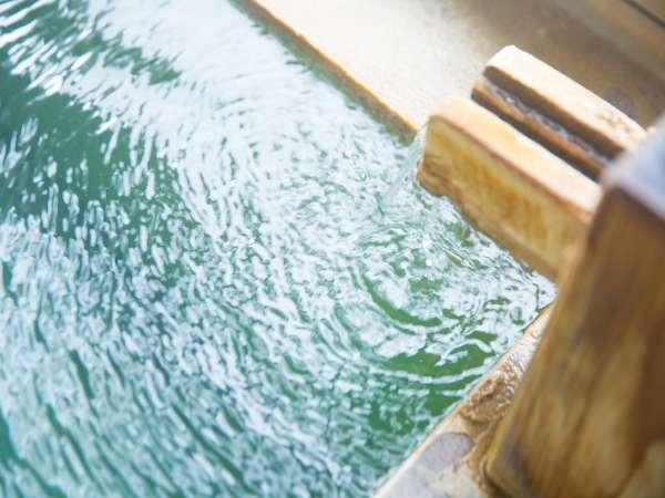 【源泉かけ流し】温度が非常に高く、泉質豊かな源泉かけ流しの温泉だから得られる真の癒し。