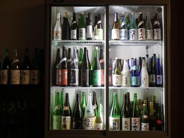 100種類を超える新潟地酒♪入手困難な限定品の中から、お気に入りのお酒を見つけてみては?