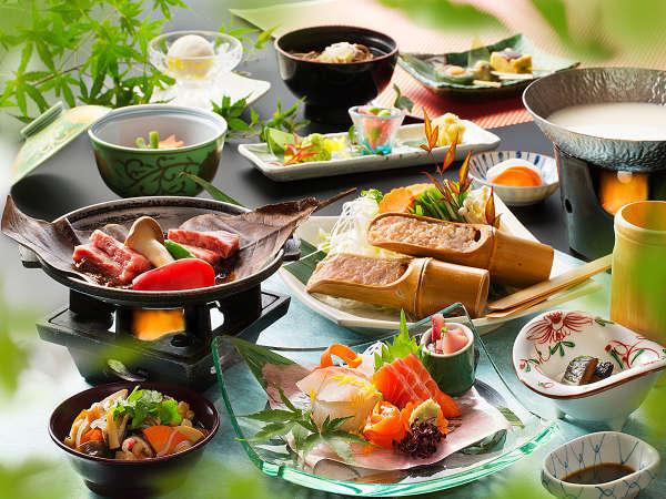 「会津郷土会席料理」のイメージ「夏」の一例