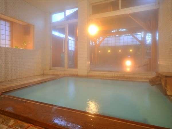 ※源泉100%かけ流し大浴場(内風呂)