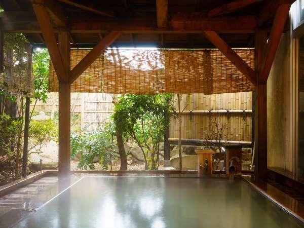 露天風呂 庭園を眺めながらゆったりとお寛ぎ下さい