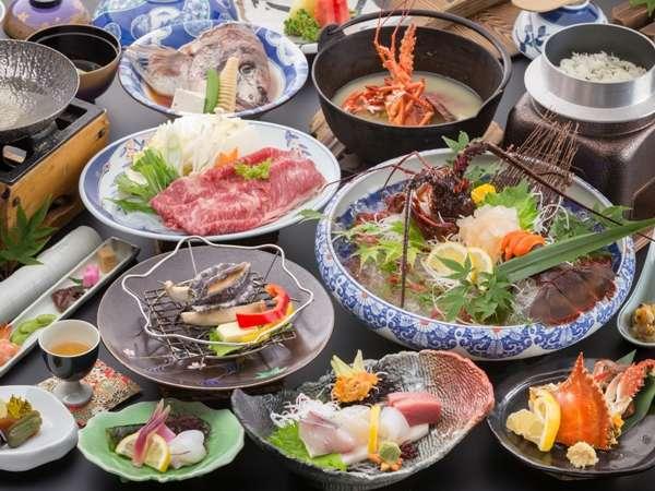 ◆◆【島原半島★美食の饗宴会席】新鮮な魚はとても美味(写真のお造りは2人前のイメージです)