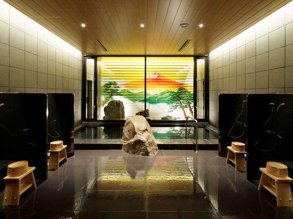 【大浴場】「駿河湯(するがゆ)」癒やしの大浴場でくつろぎのバスタイムを。