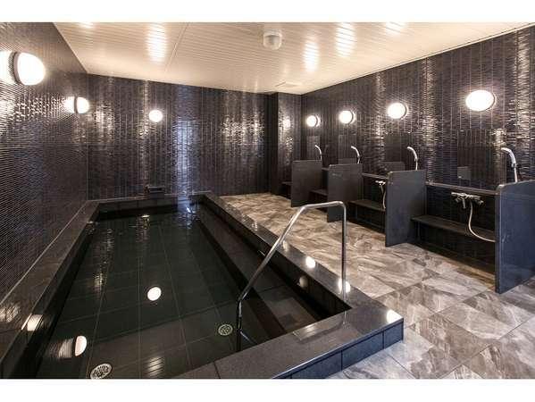 男女別の大浴場を完備