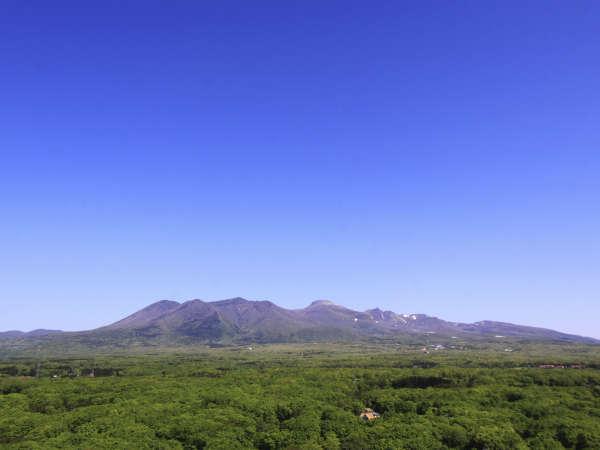 緑が眩しい那須高原の雄大な景色♪(ホテル展望台より)