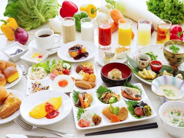 【エルバージュ】朝食◆目玉はフワフワのフレンチトースト!