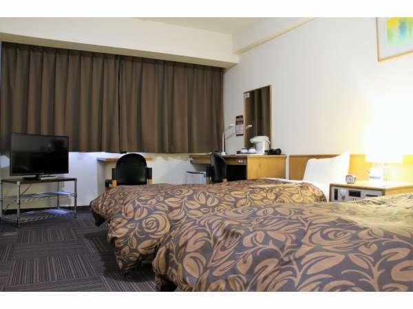 ツインルーム/シングルベッド2台