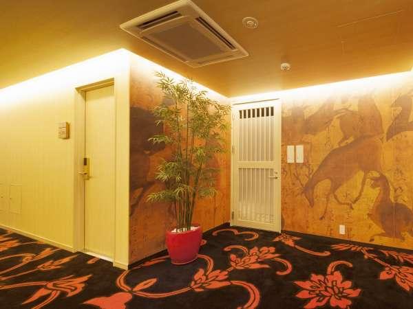 ★客室階廊下