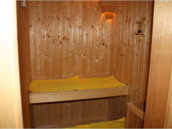 1階浴場内のサウナ