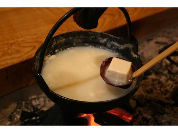 山湖荘名物温泉豆腐