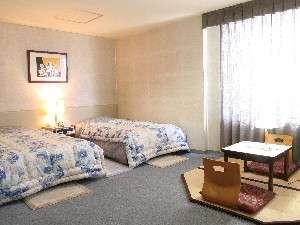 ツインでも畳付きの部屋があるよ!のんびりしてね♪※ただし3室のみ
