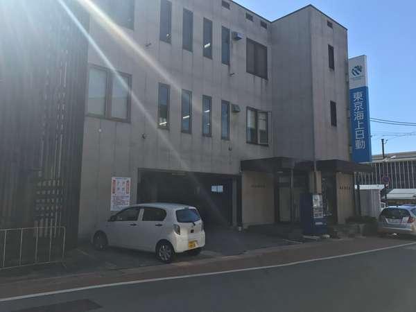 駐輪場はENEOS横の東京海上日動1Fになります。