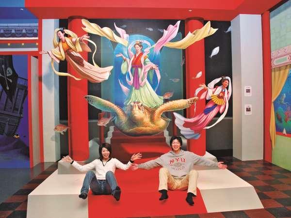 *【お祭りランド:トリックアート「夢」】100mの空間に120点のアートが大集合!