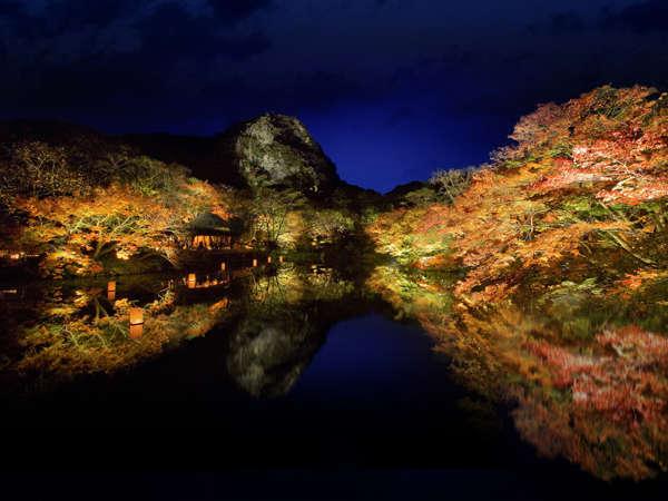 日本最大級の紅葉ライトアップイベント 『たまゆらの夕べ 』2019/11/8~12/8まで