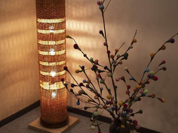 【豊岡の豊岡杞柳(きりゅう)細工の照明】職人の匠技による手作りの兵庫県伝統工芸品