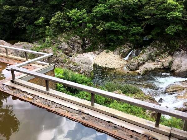 【湯の風 HAZU】渓谷美の絶景の宿!森林リゾート!24時間のんびりステイ♪