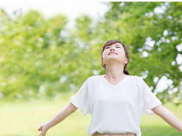【休暇村 越前三国】日本海が一望の自然豊かな休暇村で思いっきり深呼吸しませんか。