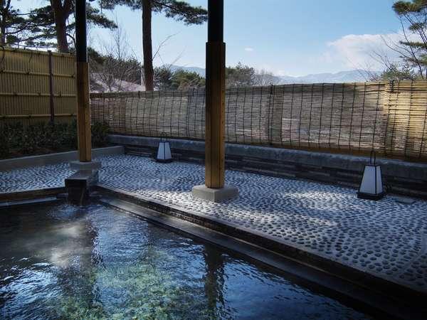 ■大浴場 露天風呂(芹ヶ沢温泉:長野県茅野市より)A