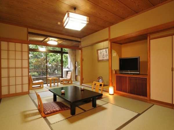 【純和風客室】落ち着いた雰囲気で和の風情たっぷり