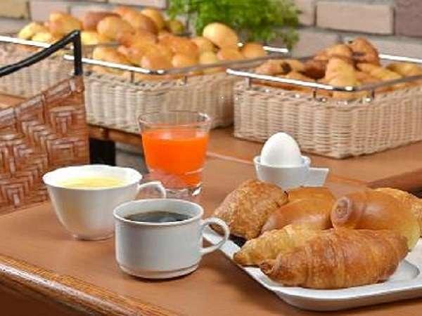 こだわりの無料朝食!