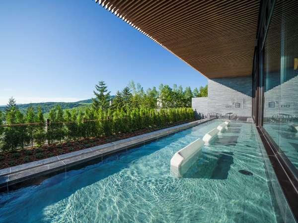 ■【館内】2019年7月OPEN≪ノースウイング大浴場≫温泉露天風呂あり。宿泊者は滞在中利用無料です。